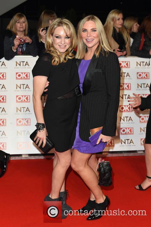 Rita Simons and Samantha Womack
