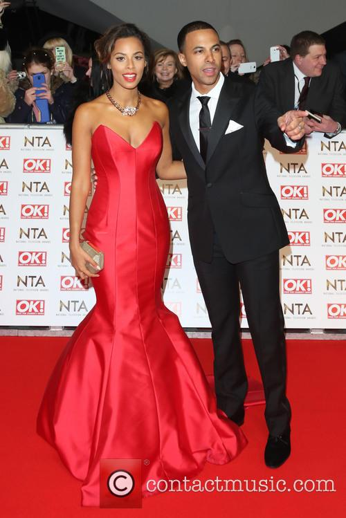 Rochelle Humes, Rochelle Wiseman and Marvin Humes 4