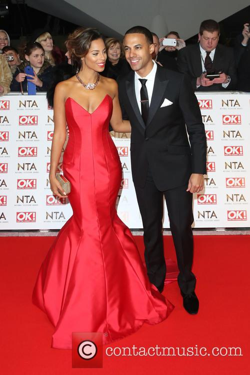 Rochelle Humes, Rochelle Wiseman and Marvin Humes 5