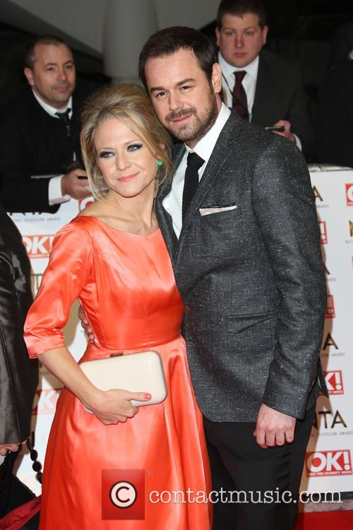 Kellie Bright and Danny Dyer 2