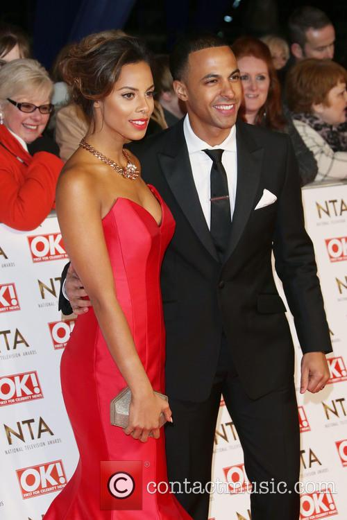 Rochelle Humes, Rochelle Wiseman and Marvin Humes 9