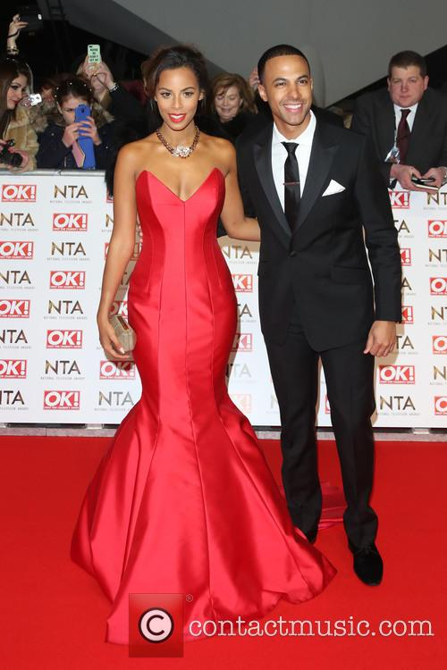 Rochelle Humes, Rochelle Wiseman and Marvin Humes 10