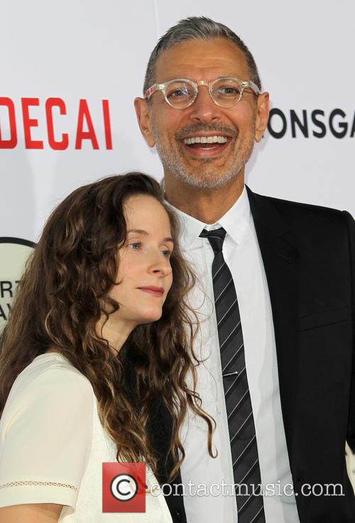 Emilie Livingston and Jeff Goldblum 8