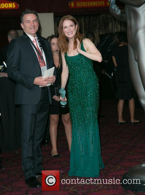 Stephen Huvane and Julianne Moore 1