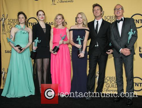 Andrea Riseborough, Emma Stone, Amy Ryan, Naomi Watts, Edward Norton and Michael Keaton 2