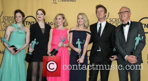 Andrea Riseborough, Emma Stone, Amy Ryan, Naomi Watts, Edward Norton and Michael Keaton 3