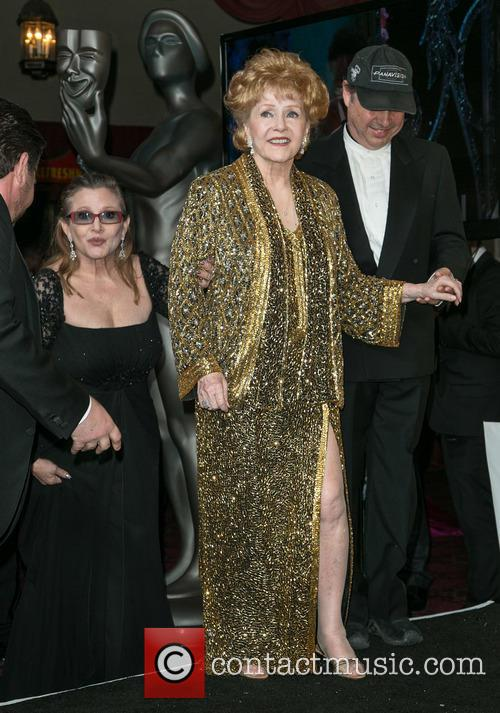 Carrie Fisher, Debbie Reynolds and Todd Fisher 2