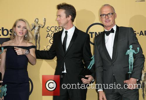 Naomi Watts, Edward Norton and Michael Keaton 3