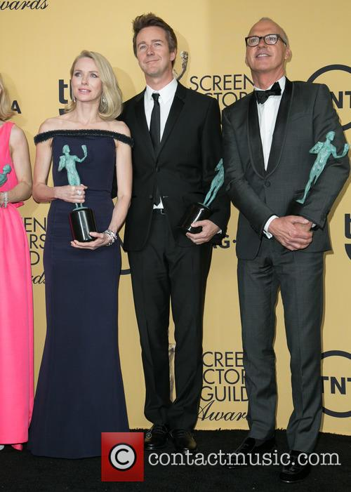 Naomi Watts, Edward Norton and Michael Keaton 1