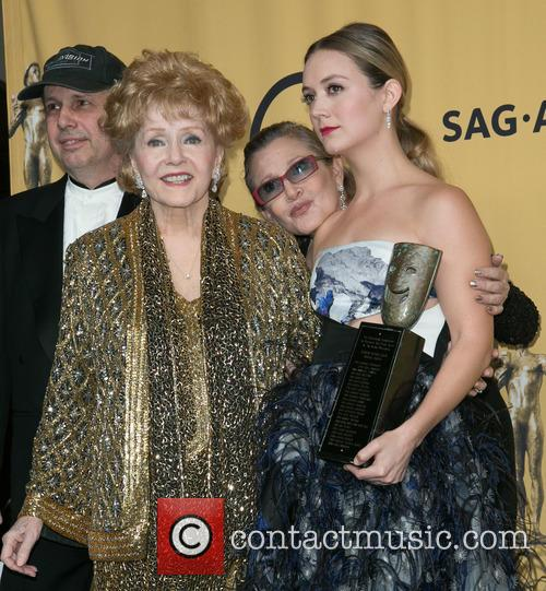 Todd Fisher, Carrie Fisher, Debbie Reynolds and Billie Catherine Lourd 2