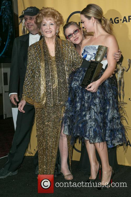 Todd Fisher, Carrie Fisher, Debbie Reynolds and Billie Catherine Lourd 3