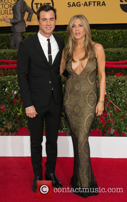 Justin Theroux and Jennifer Aniston 2