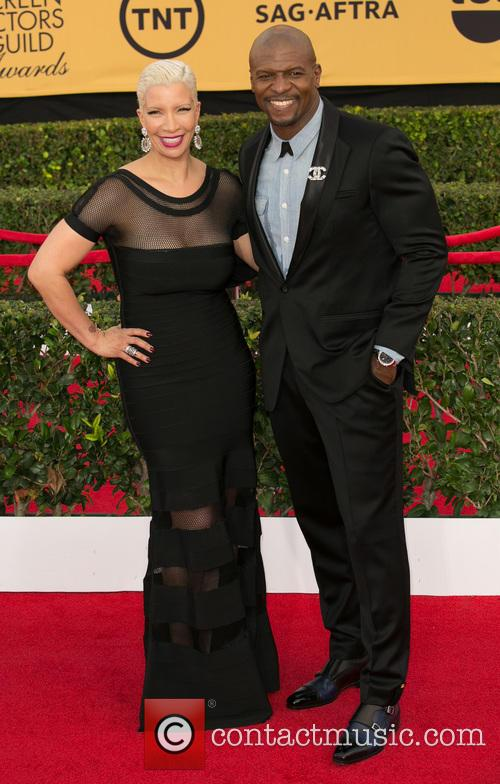 Rebecca King-crews and Terry Crews 6