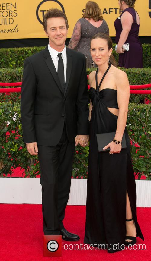 Edward Norton and Shauna Robertson 1