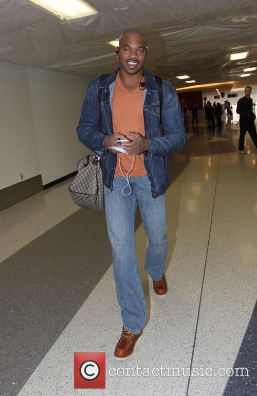Corey Maggette departs LAX in Los Angeles