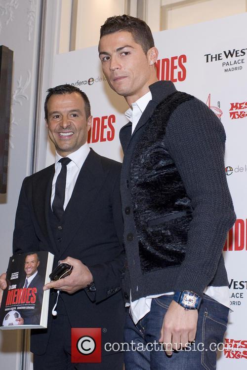 Cristiano Ronaldo attends a presentation of the book...