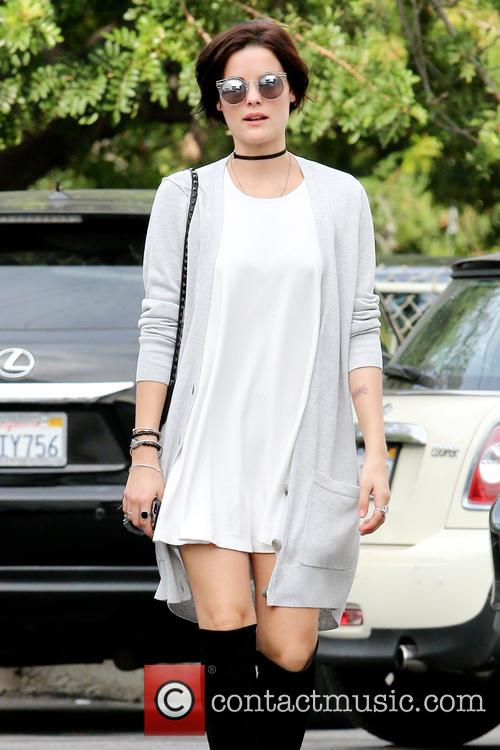 Jaimie Alexander shopping in Beverly Hills