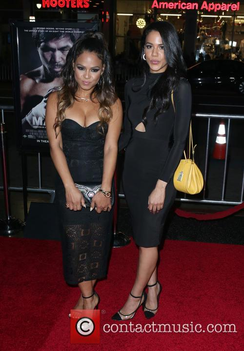 Christina Milian and Liz Milian 7