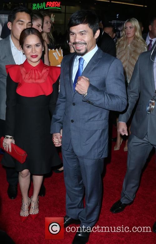 Jinkee Pacquiao and Manny Pacquiao 1