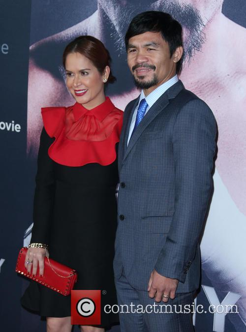 Jinkee Pacquiao and Manny Pacquiao 3