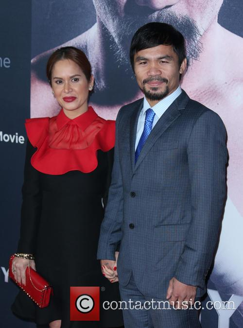 Jinkee Pacquiao and Manny Pacquiao 5