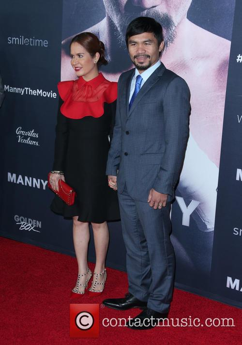 Jinkee Pacquiao and Manny Pacquiao 6