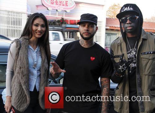Lilusha Bravo, Timati and Sam Sarpong 2