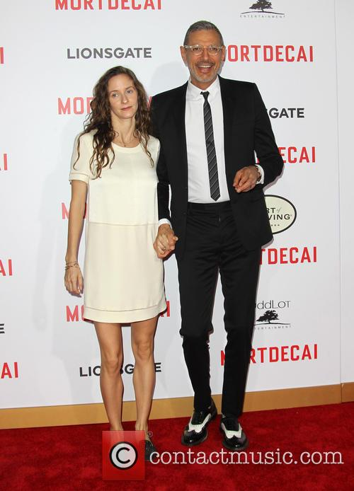 Emilie Livingston and Jeff Goldblum 3