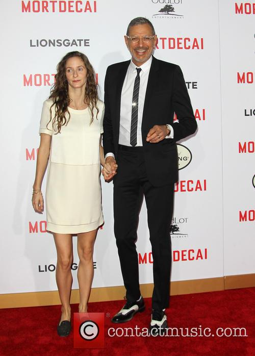 Emilie Livingston and Jeff Goldblum 4