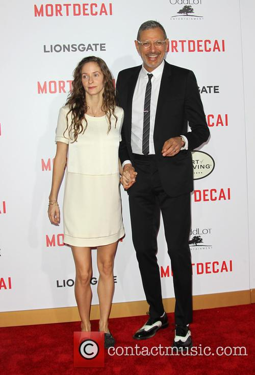 Emilie Livingston and Jeff Goldblum 5