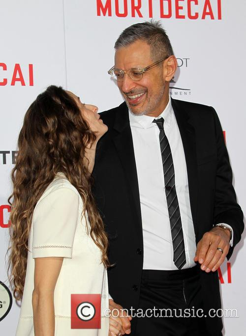 Emilie Livingston and Jeff Goldblum 6
