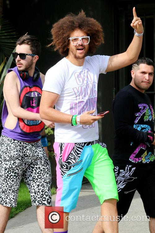 Redfoo out and about in West Hollywood.