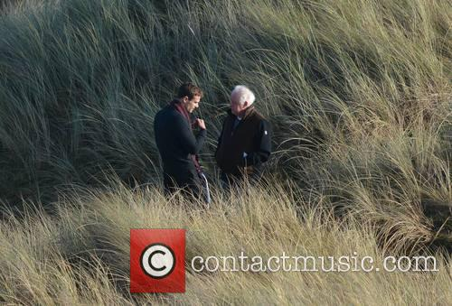 Jim Sheridan and Theo James 3