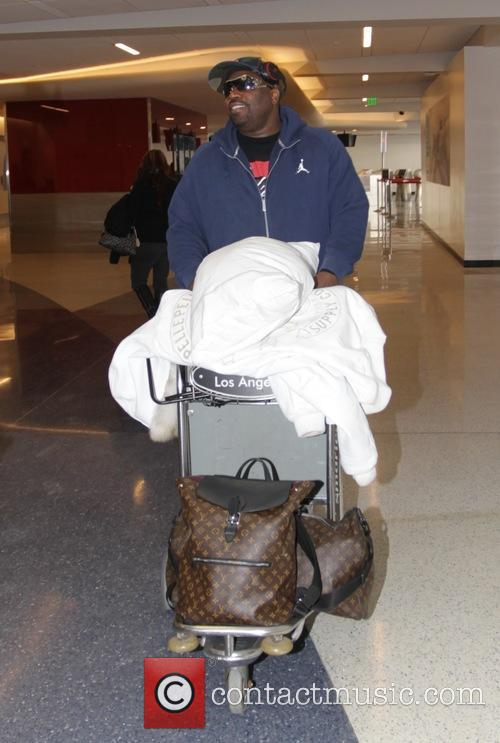 Bruce Bruce at Los Angeles International Airport