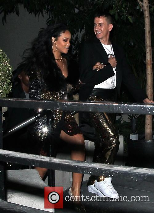 Rihanna and Jeremy Scott 1