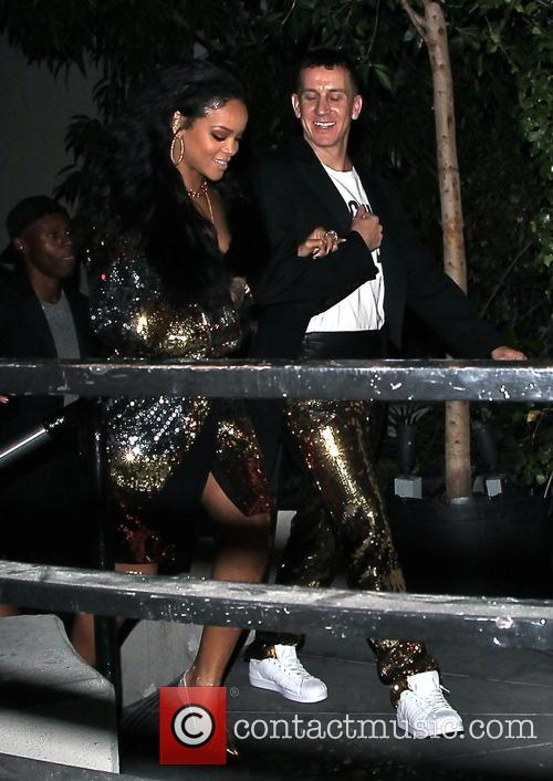Rihanna and Jeremy Scott 2