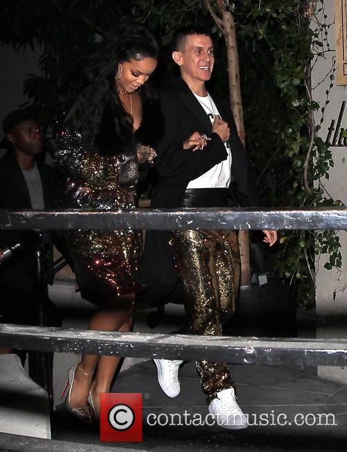 Rihanna and Jeremy Scott 3