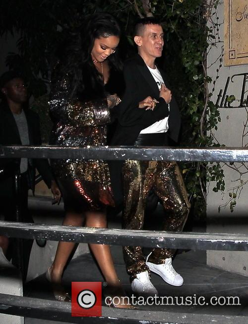 Rihanna and Jeremy Scott 4