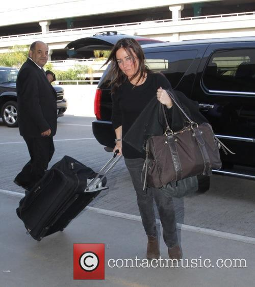 photo of Pamela Adlon  - car
