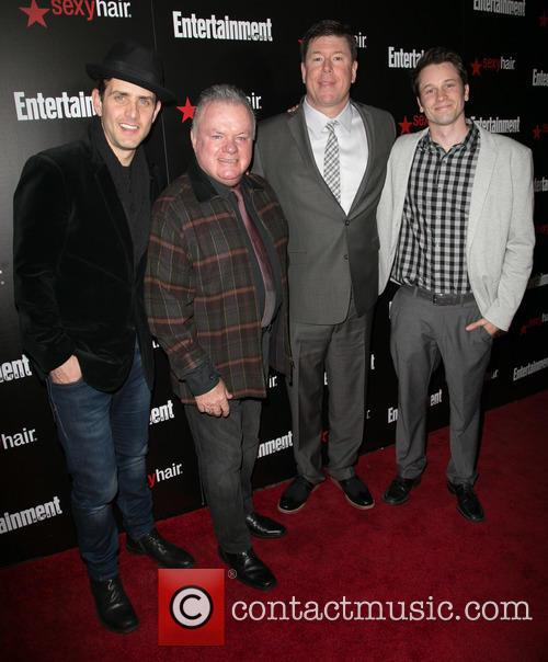 Joey Mcintyre, Jack Mcgee, Jimmy Dunn and Tyler Ritter