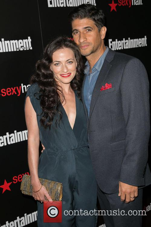 Raza Jaffrey and Lara Pulver 2