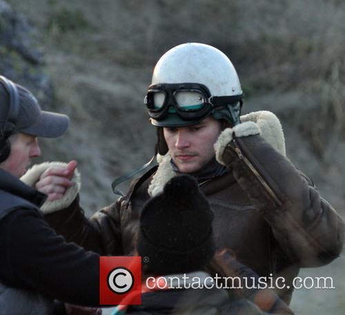Rooney Mara onset of The Secret Scripture filming...