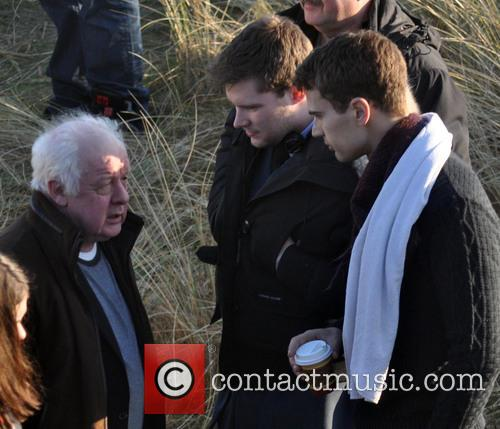 Jim Sheridan, Jack Reynor and Theo James 11