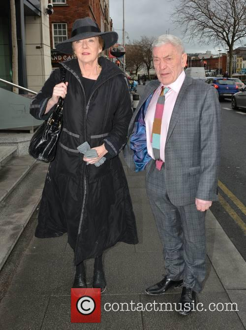 Brendan O'carroll, Marian Finucane and Husband John Clarke