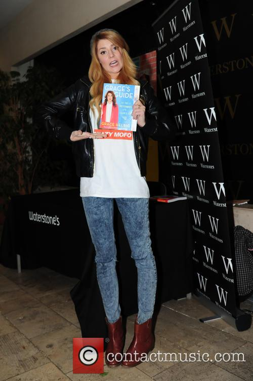 Grace Helbig promotes her book 'Graces Guide'