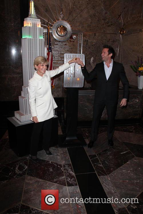 Hugh Jackman and Julie Bishop 3