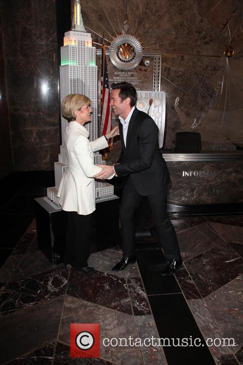 Hugh Jackman and Julie Bishop 4