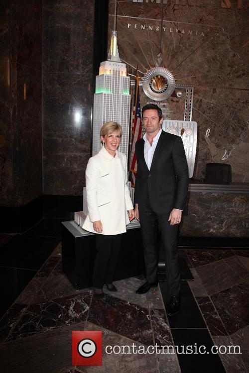Hugh Jackman and Julie Bishop 5