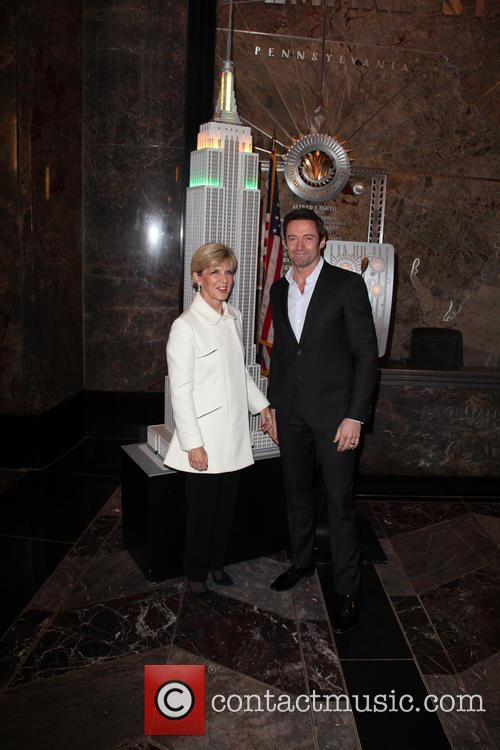 Hugh Jackman and Julie Bishop 6