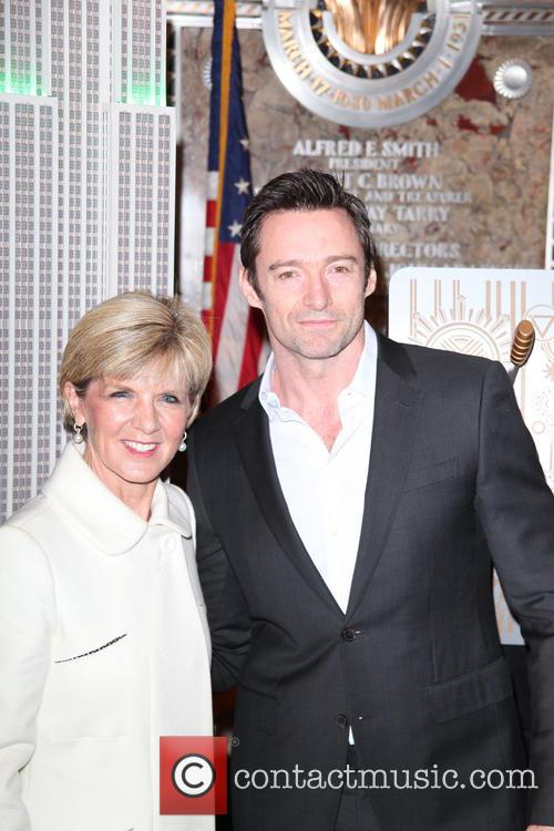 Hugh Jackman and Julie Bishop 7